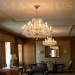 Glass crystal chandeliers
