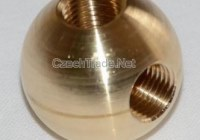 CNC brass machining